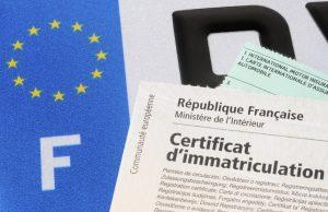 Carte grise véhicule importé UE