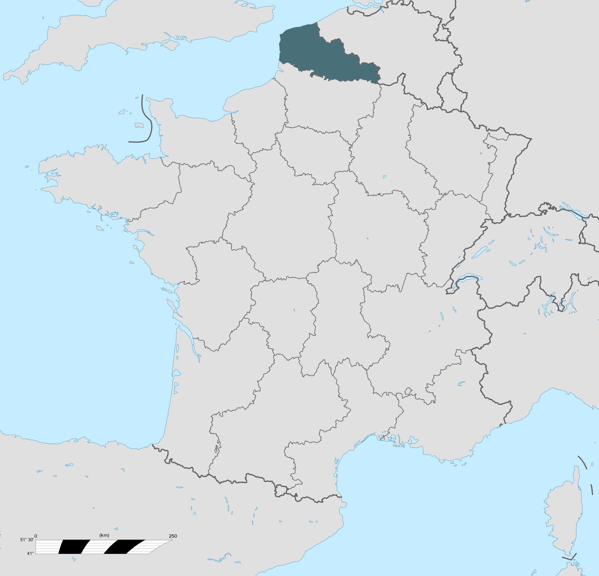 Carte grise Nord-Pas-de-Calais