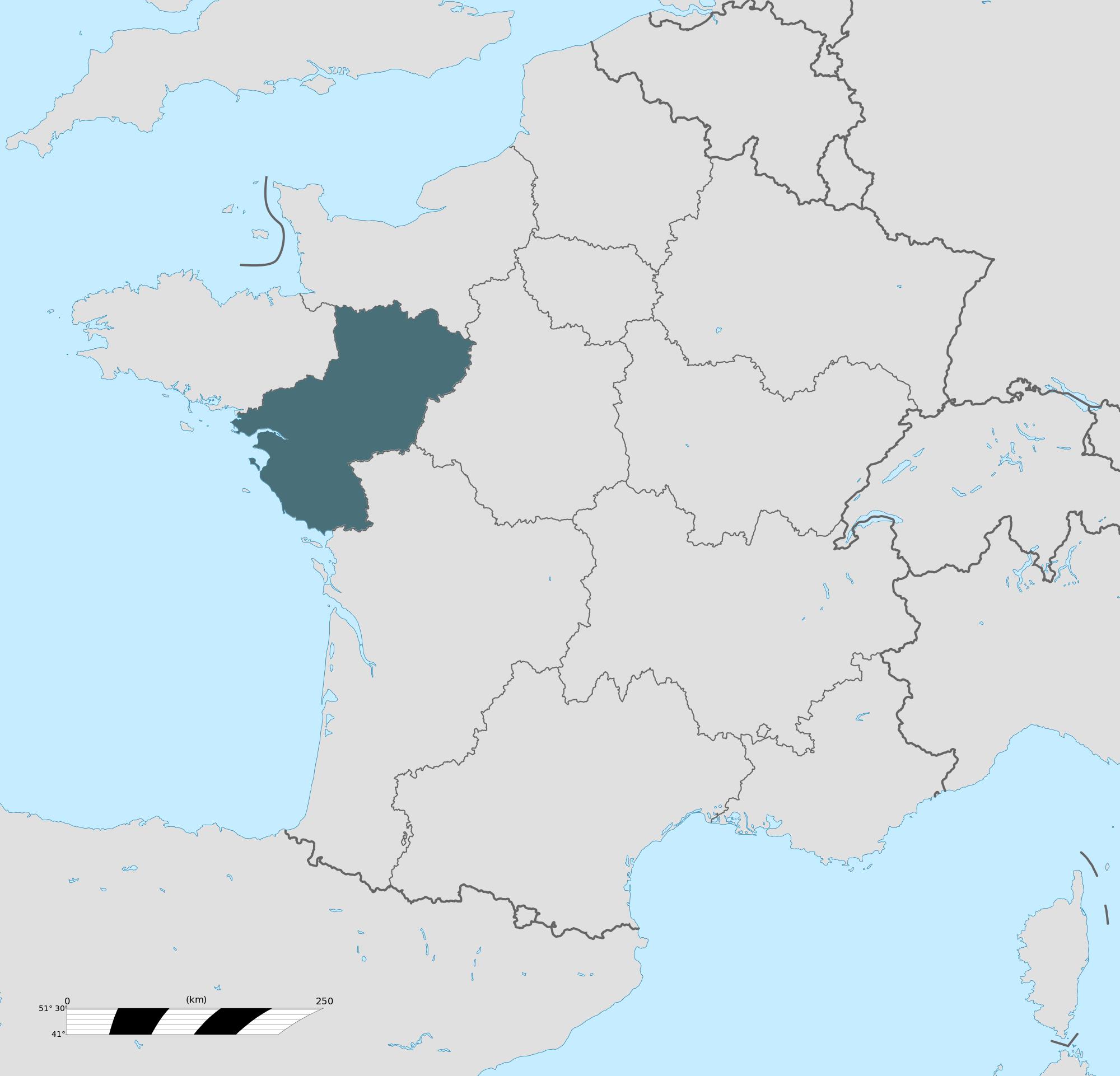 Carte grise Pays de la Loire