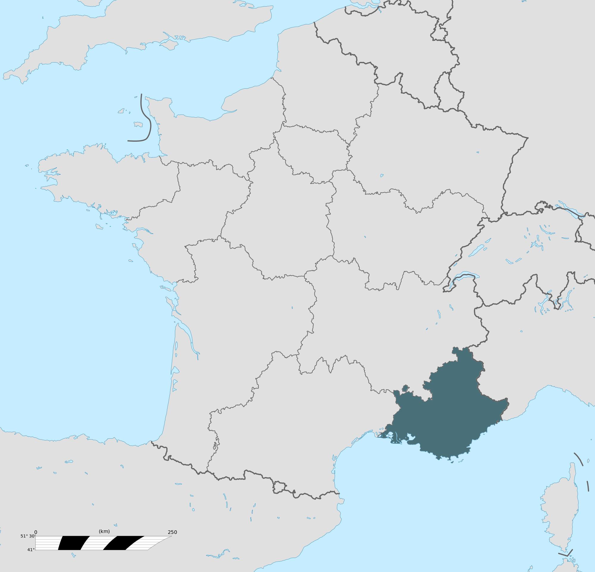 Carte grise Provence-Alpes-Côte d'Azur